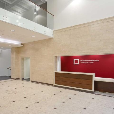 UCL School of Pharmacy   29-39 Brunswick Square