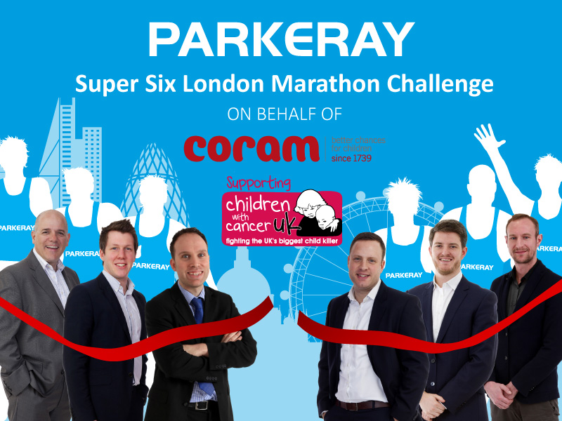 Parkeray's Super Six Take On London Marathon Challenge