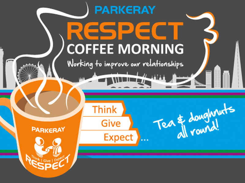 Parkeray's Respect Coffee Morning