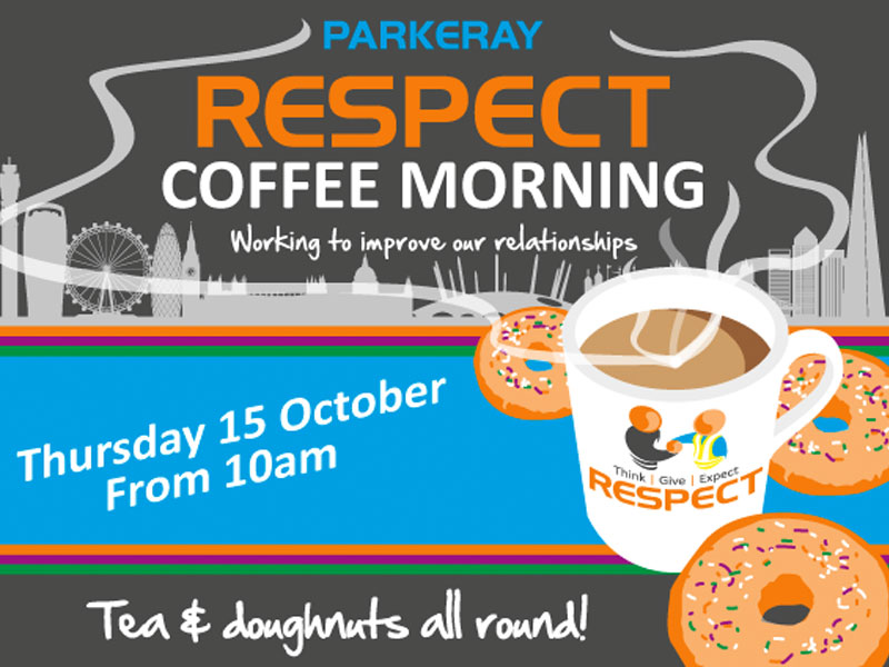 Respect Coffee Morning Returns In October