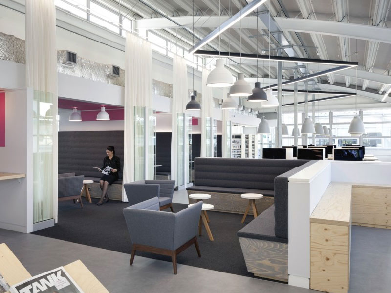 Harrow Library Fit Out Completes At UOW