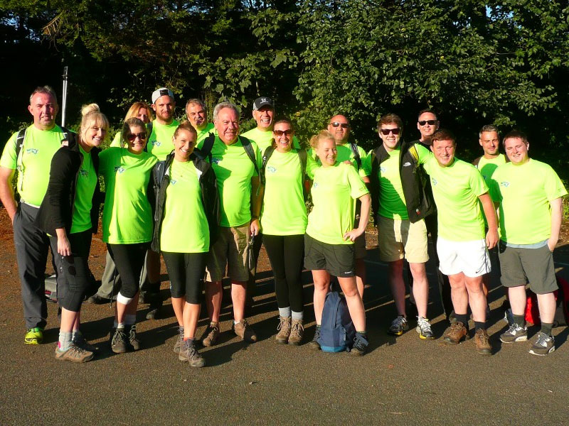 The Parkeray Challenge Team Jersey Walk