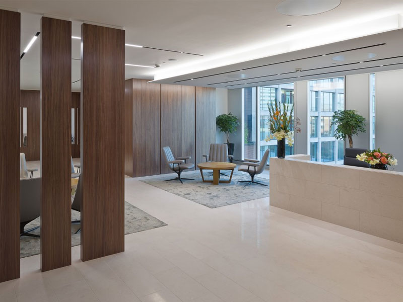 Fox Williams Fit Out Completes