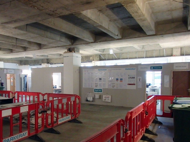 Major Refurb Underway on Chiswell Street