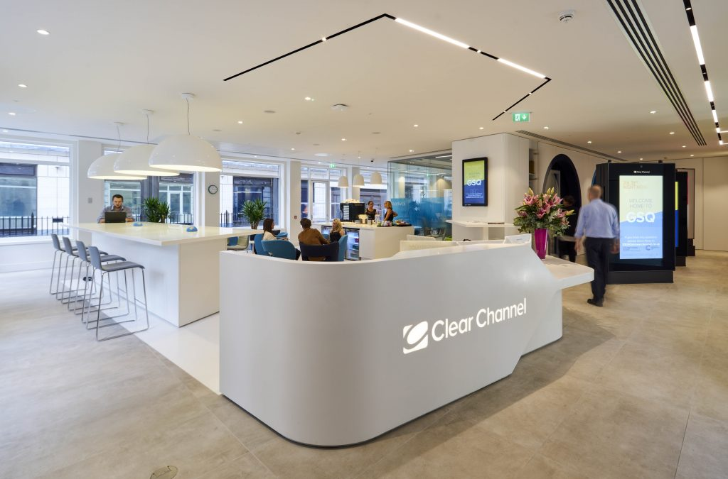 clear office. Clear Channel Office Fit Out \u2013 Workspace Of The Future A