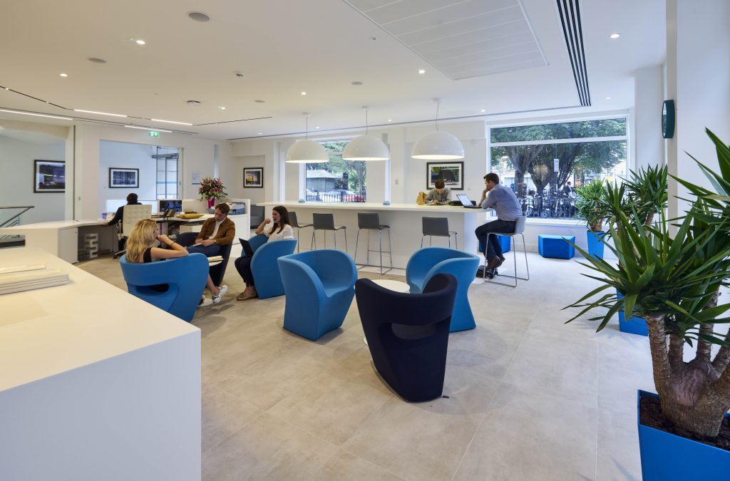 Workspace Of The Future Clear Channel Uk 39 S Revamped Hq