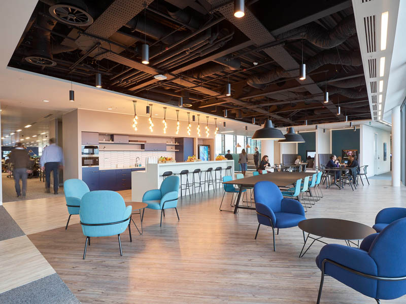 All-Star Fit Out For NBCUniversal International Completes