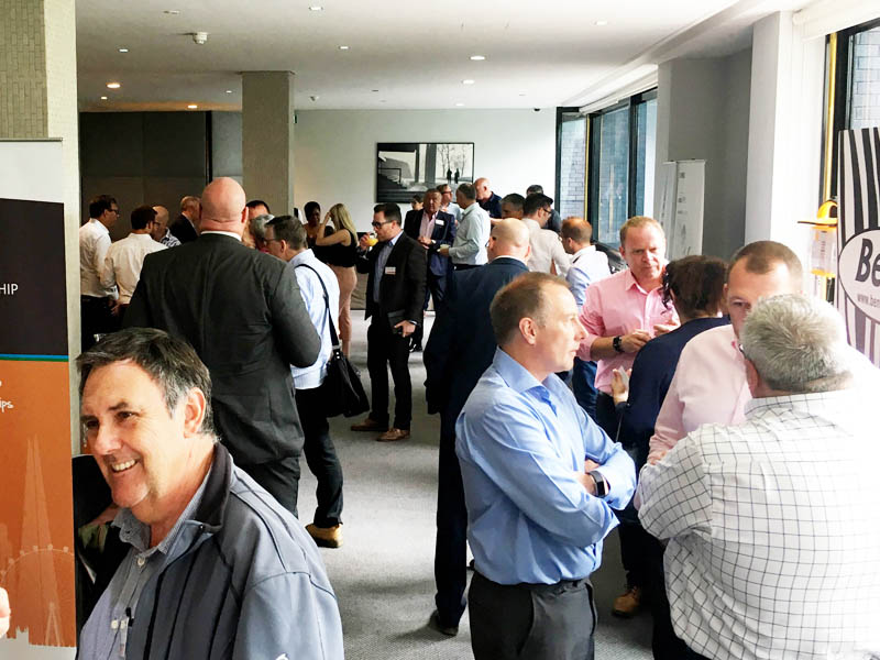 Great Networking & Breakfast Butties at the PPF