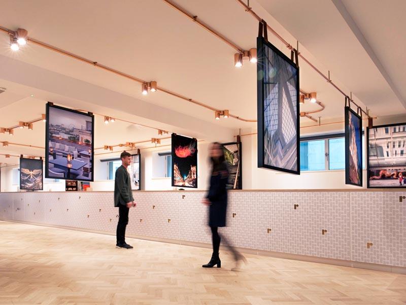 Parkeray completes Regent Street Marketing Suite for The Crown Estate