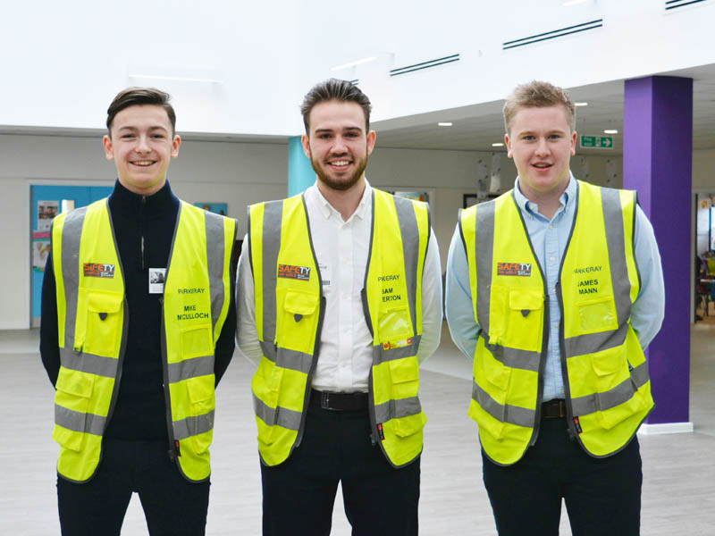 Trainees lead CCS Scheme at Project Pearl