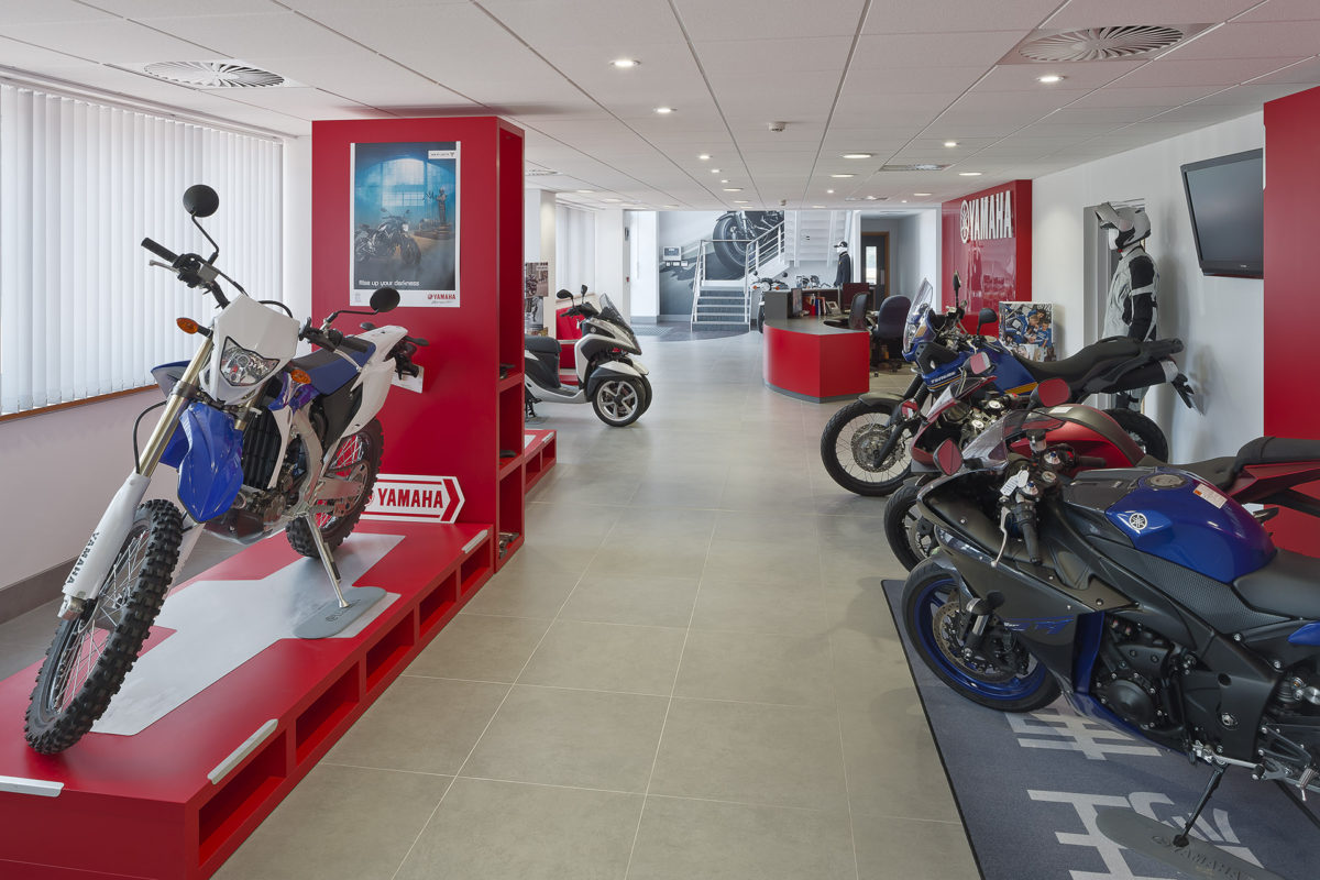 Yamaha Motors | Units 2 & 3 Kingsway Business Park