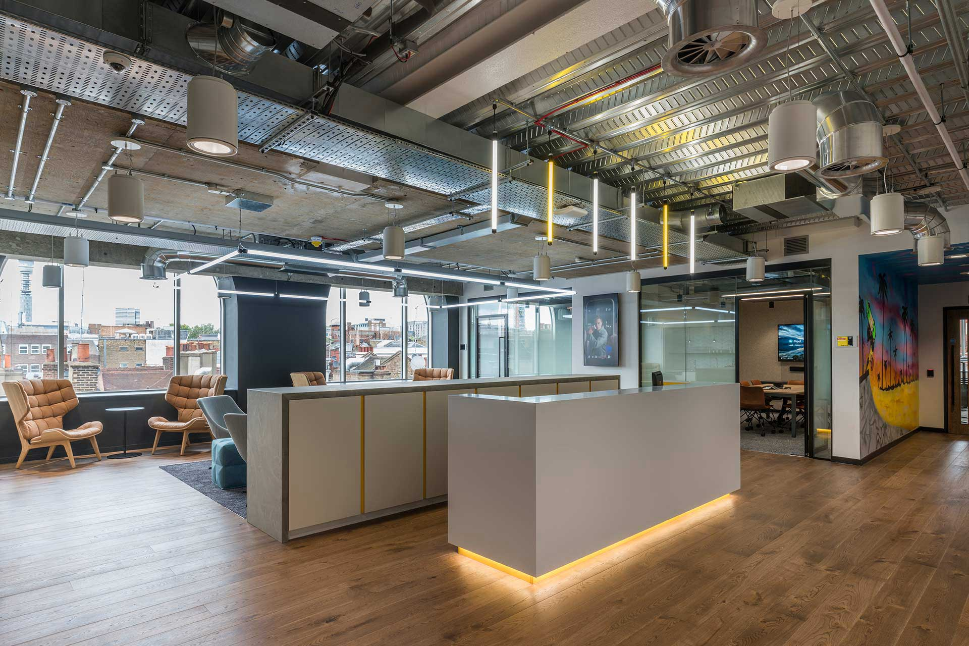 Were A Main Contractor Specialising In Interior Fit Out And Refurbishment We Deliver Superb Commercial Interiors