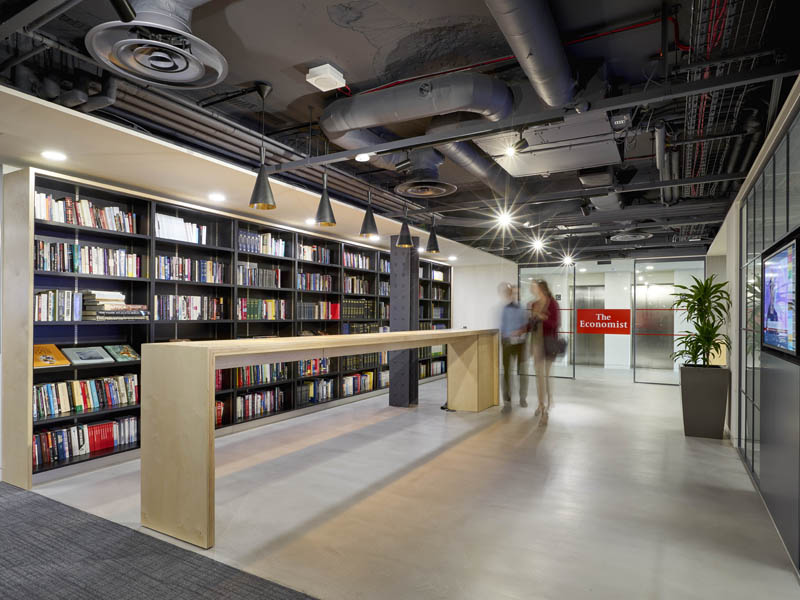 Economist Wins Commercial Interiors Project of the Year