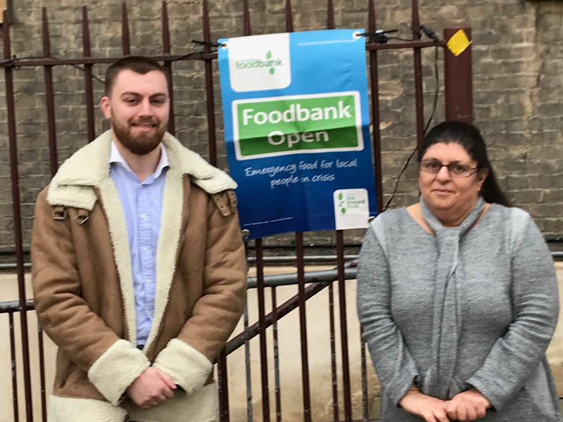 Site Food Bank Helps The Local Community