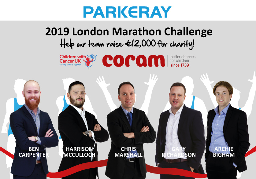 Parkeray Charity Challenges For 2019