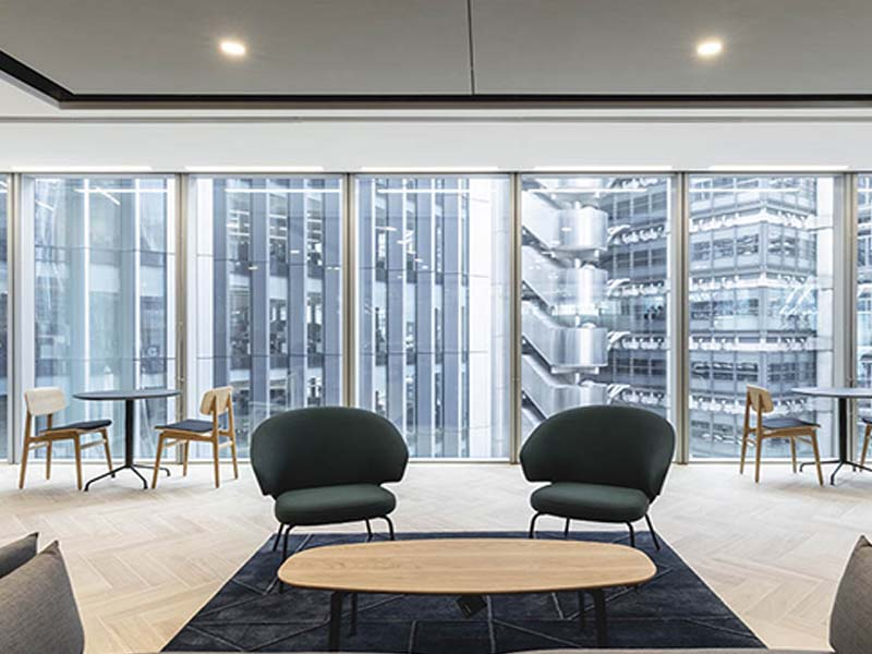 Parkeray Completes Fit Out of New London HQ for Chaucer